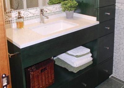 BAN110 Mueble de Baño Verde