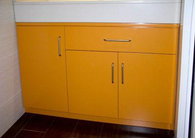 BAN113 Mueble de Baño Naranja
