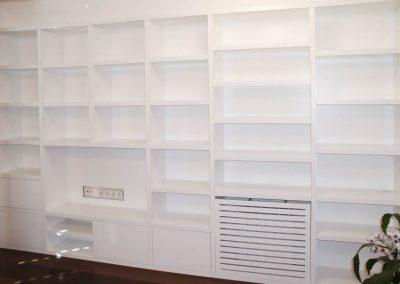 LIB110 Librería Estantería para salón y TV