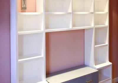 LIB113 Set de Librería Estantería y Cajonera