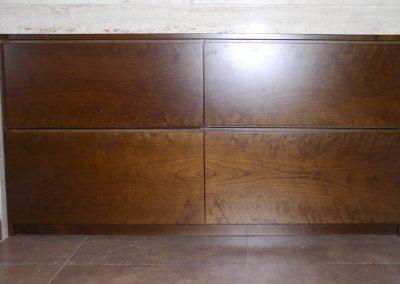 Mueble de baño con gavetas